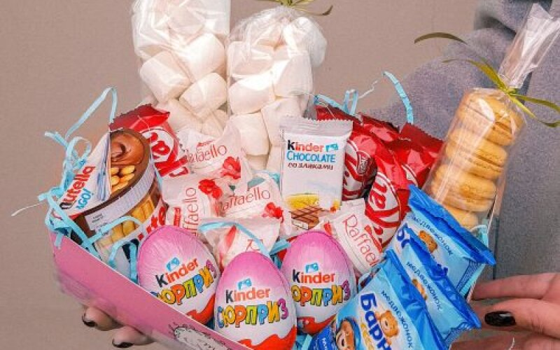 Коробка со сладостями № 18