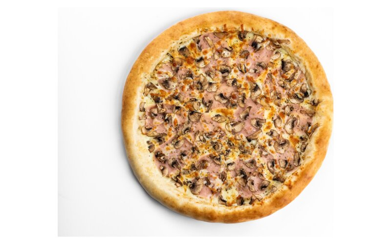 Пицца «Ветчина и грибы»
