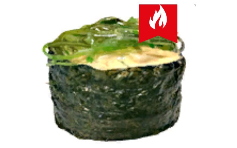 Гункан-маки с кальмаром