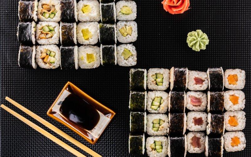 Суши-сет №9 «Хидзуке»