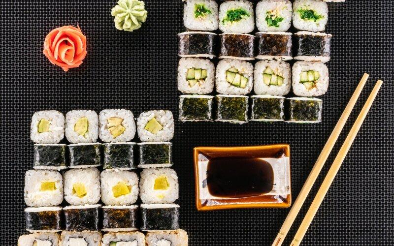Суши-сет №11 «Овощной микс» вегетарианский