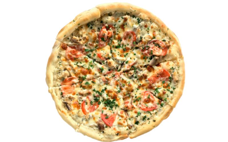 Пицца «Сливочный цыплёнок»