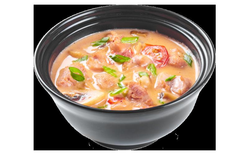 Суп «Том-ям» с курицей