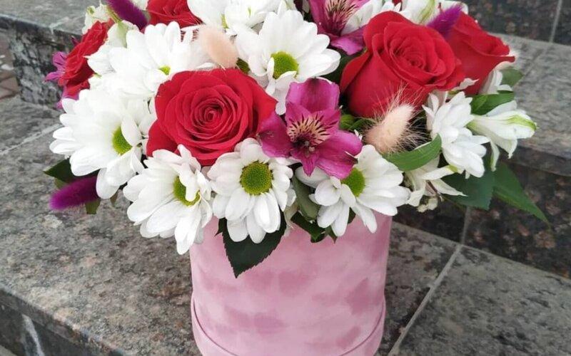 Коробка с цветами «Мечта»