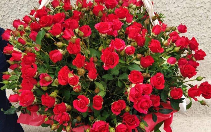 Корзина с цветами «Мечта»