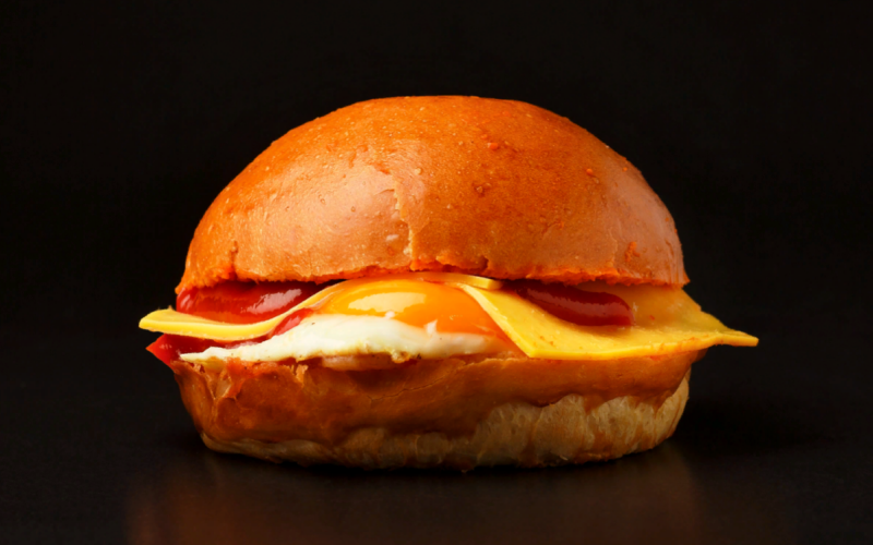 Бургер Яйцо&Сыр