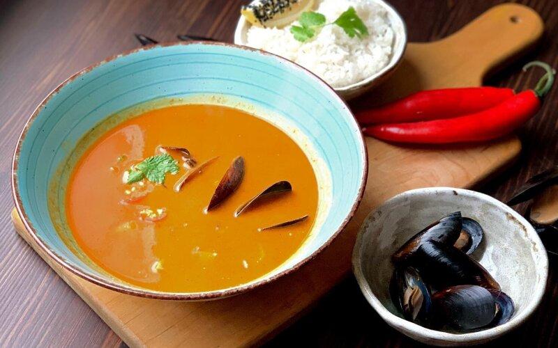 Суп «Том Ям Гай»