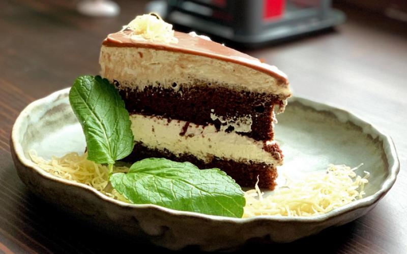 Торт «Шоколадно-творожный»