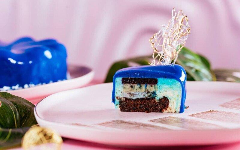 Десерт «Синяя королева»