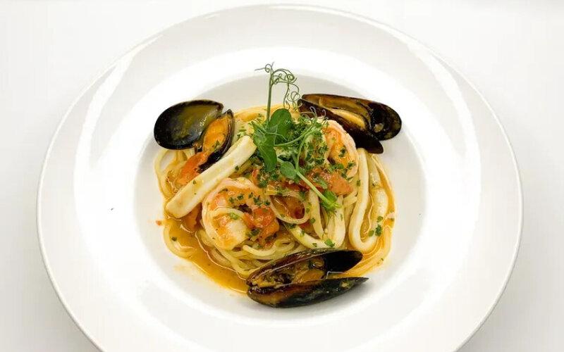 Паста с морепродуктами «От Шефа»