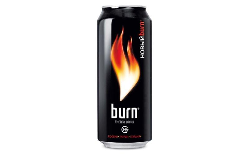 Напиток энергетически «Бёрн»