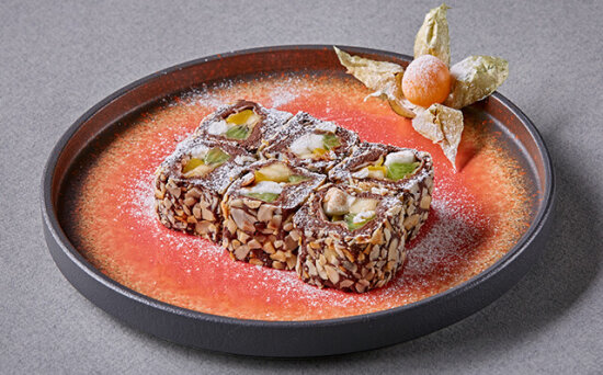 Десерт «Домино»