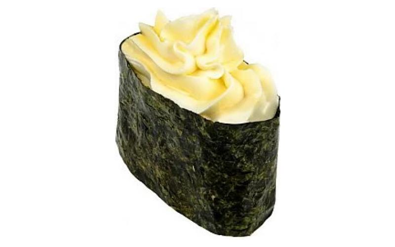 Гункан «Сырный» с креветкой