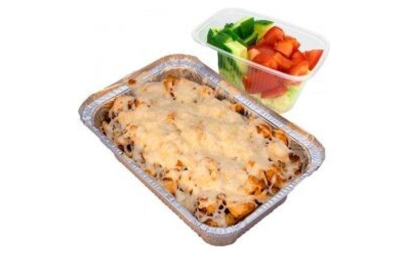 Капсалон с курицей и картофелем