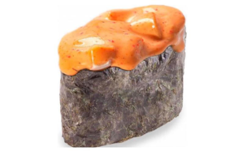 Гункан «Спайси» с угрём