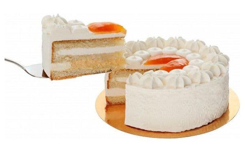 Торт «Персиковый йогурт»