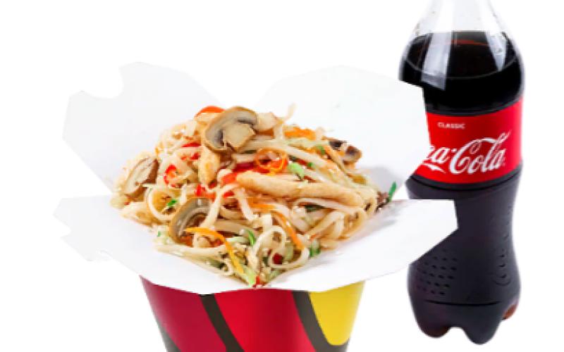 Комбо с «Coca-cola»