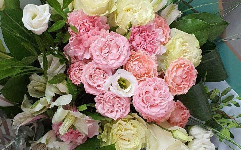 Букет цветов «Эдельвейс»