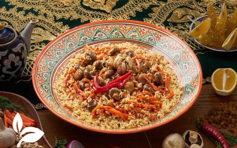 Плов «Бухарский» вегетарианский