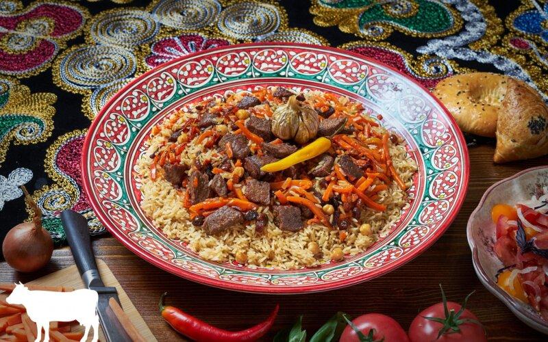 Плов «Бухарский» с телятиной