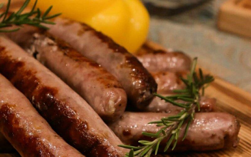 Колбаски гриль свиные