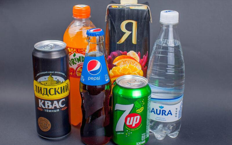Газированный напиток Pepsi