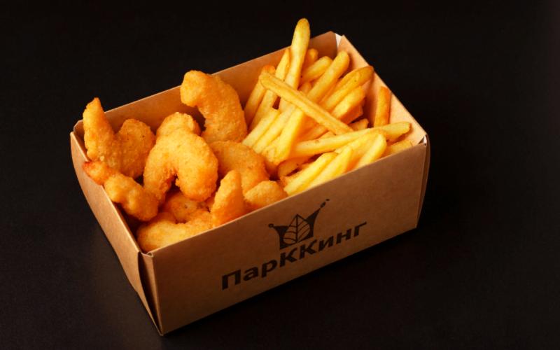 Комбо-набор «Креветка и картофель фри»