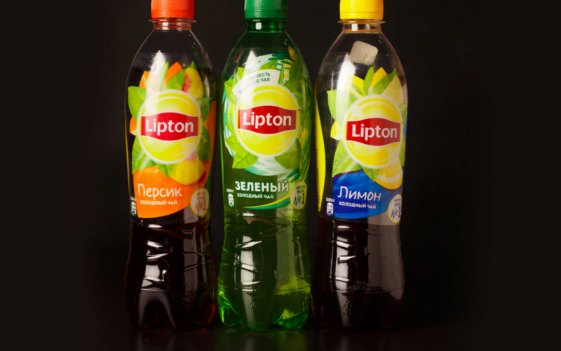Чай «Lipton» со вкусом лимона