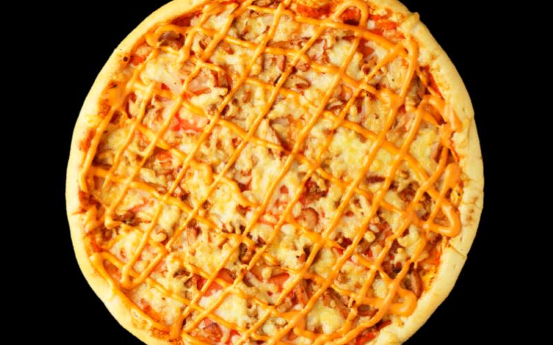 Пицца «Гавайская» с ветчиной
