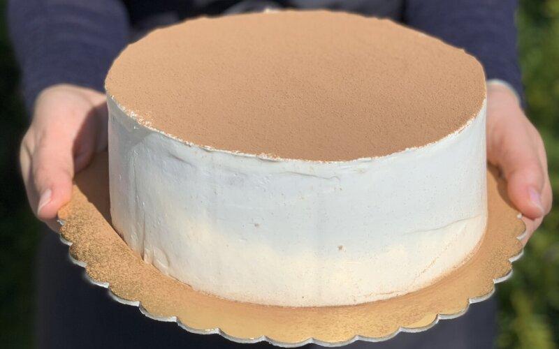 Торт «Ванильный пломбир»