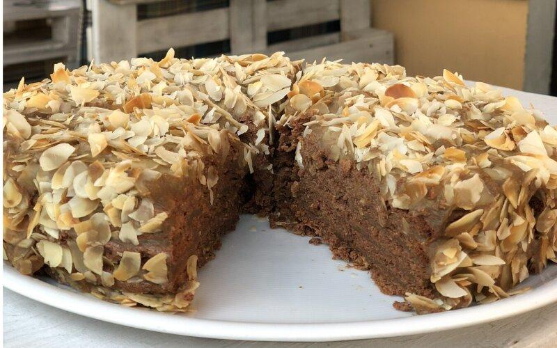 Торт «Миндально-кофейный»