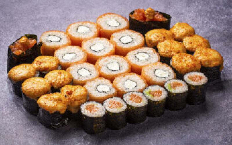 Суши-сет «Сяке сет»
