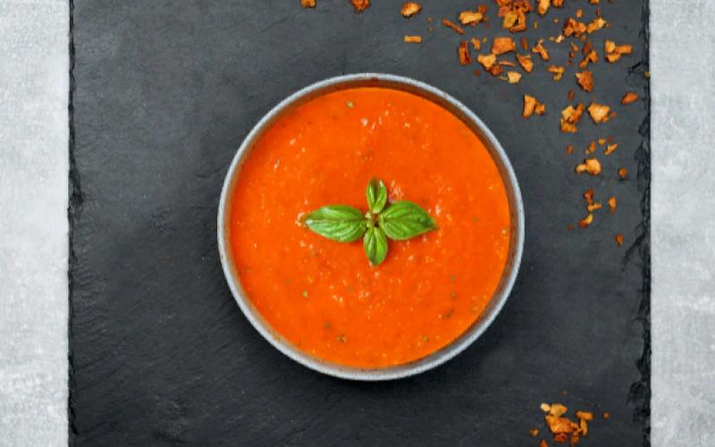 Томатный суп-пюре «Гаспачо»