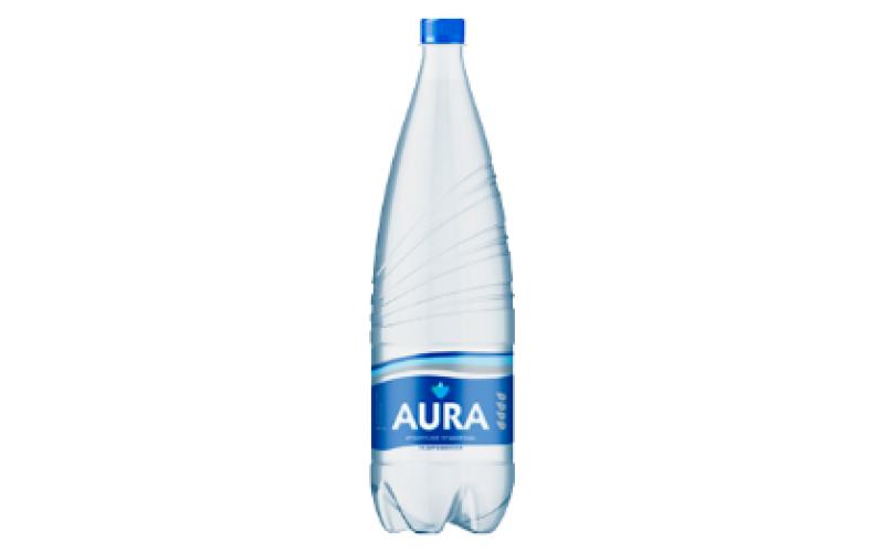 Вода Аура газированная