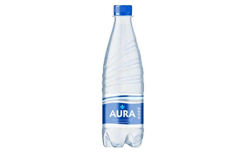 Вода «Aura» газированная