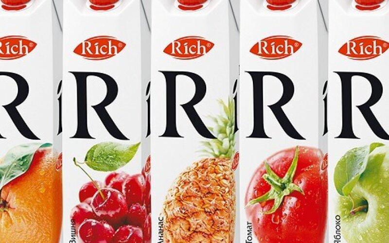 Сок «Rich» в ассортименте