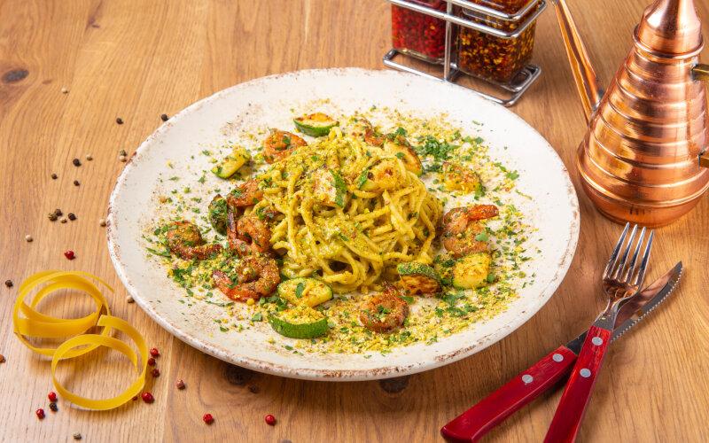 Спагетти «Песто»