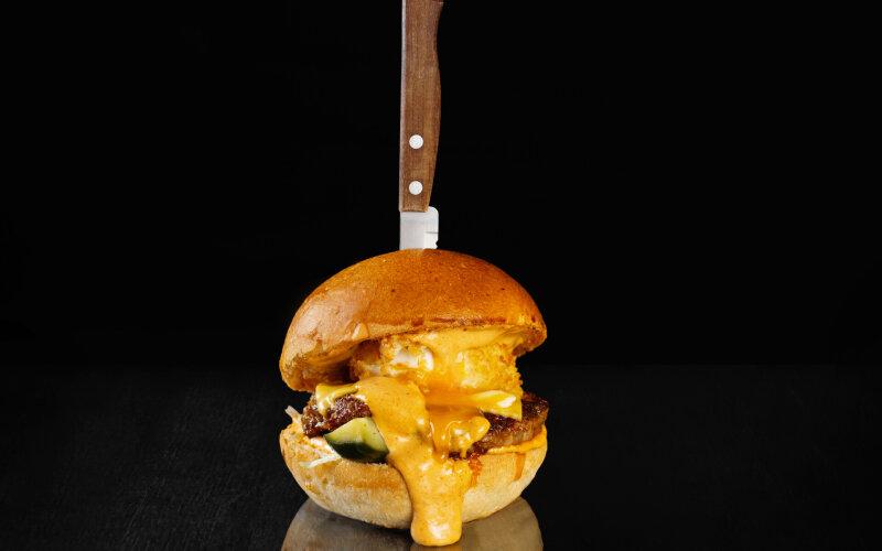 Бургер «Яичный бум»