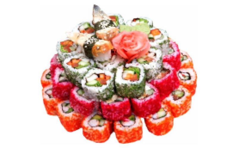 Суши-торт «Праздничный»
