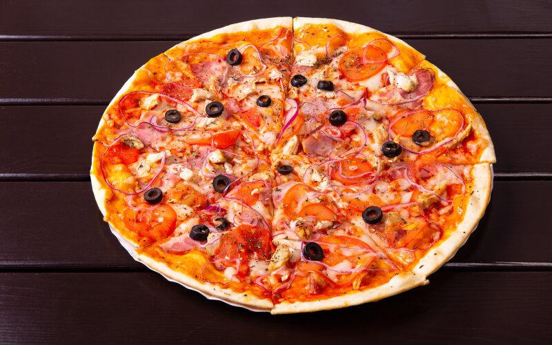 Пицца «Чикен-Ренч»