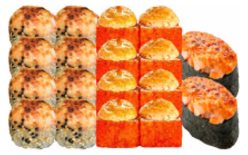 Суши-сет «Горячие головы»