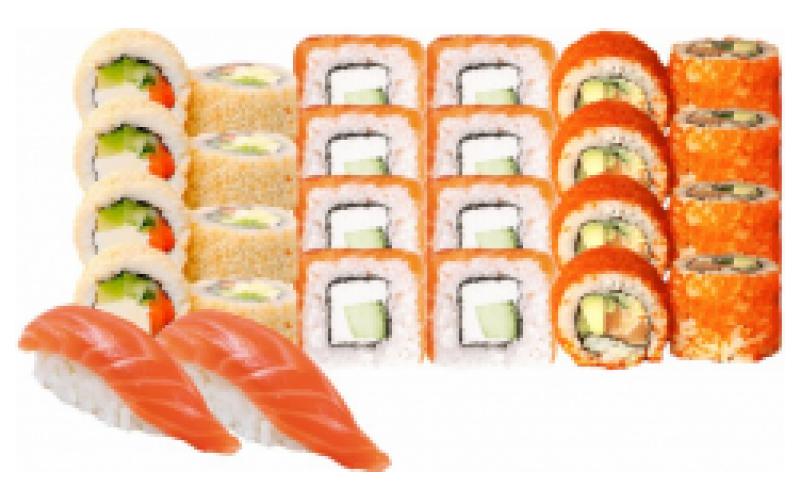 Суши-сет «Лосось фреш»