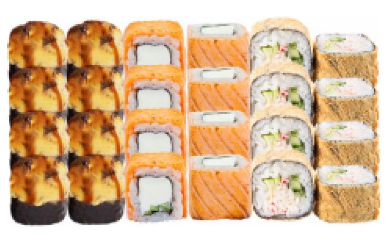 Суши-сет «Тёплый ужин»