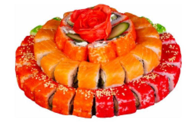 Суши-торт «Юбилейный»