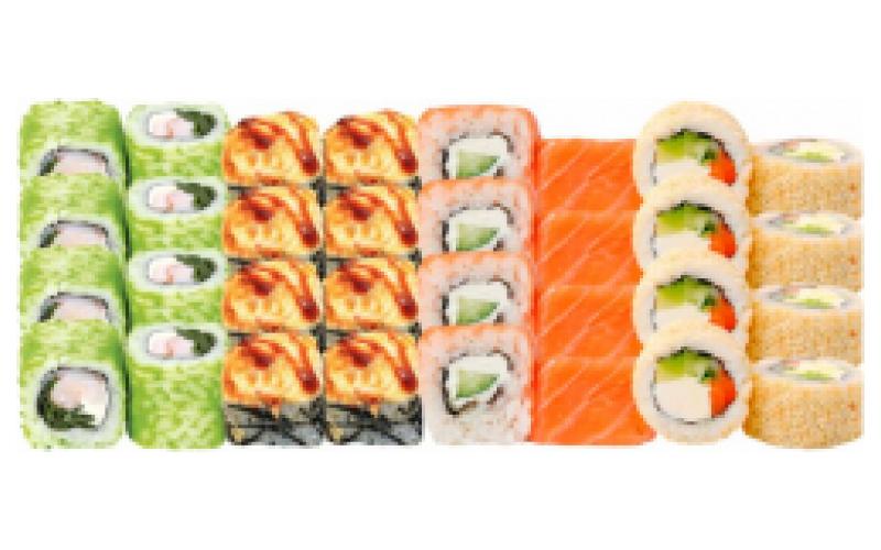 Суши-сет «Радуга»