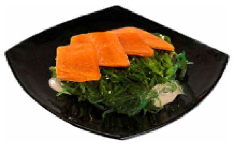 Салат «Чука» с лососем
