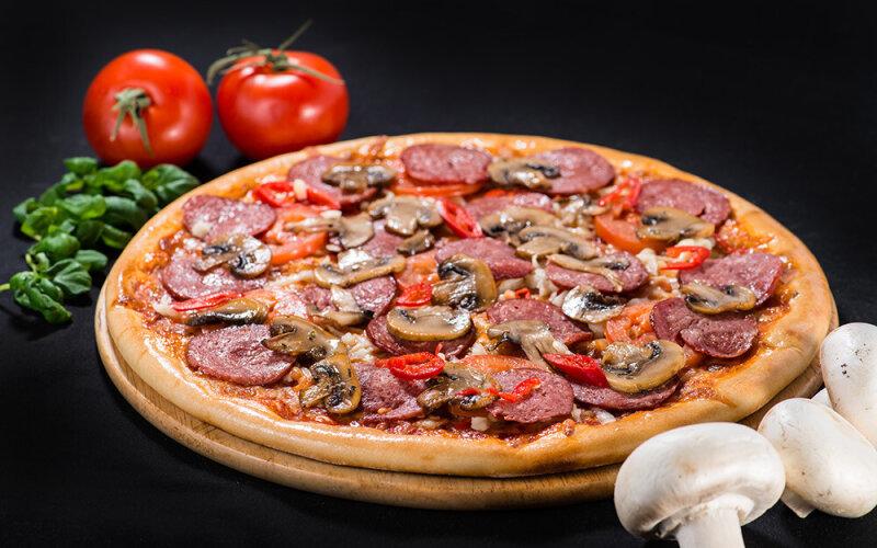 Пицца на толстом тесте «Мексика»