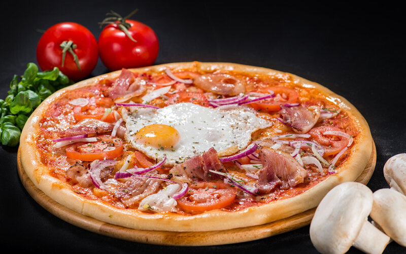 Пицца на толстом тесте «Палермо»