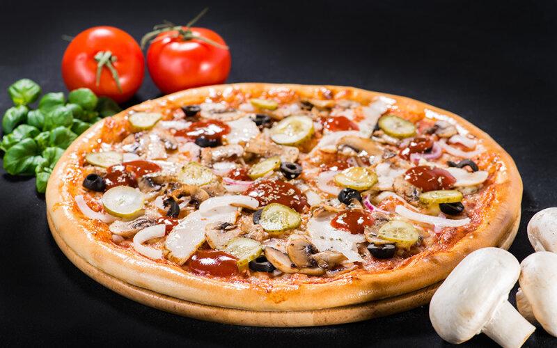 Пицца на толстом тесте «Боссо»