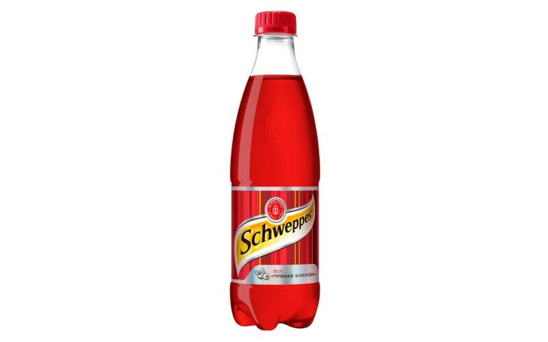 Напиток газированный «Швепс» со вкусом пряной клюквы